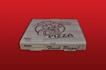 Cutie pizza Kraft natur 32x32