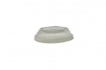 Capac bombat transparent  Ø.85mm PET transparent