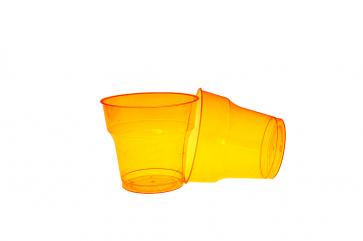 Pahar Cristal 200ml Portocaliu