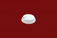 Capac 80mm alb