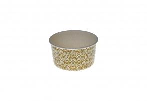 Caserola inghetata 150ml auriu