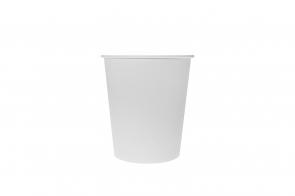 Pahar carton 4oz 100ml alb