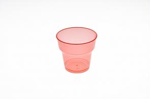 Pahar Cristal 200ml Rosu