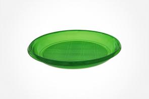 Farfurie Cristal  210mm Verde