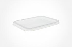 Capac transparent 150x110x8