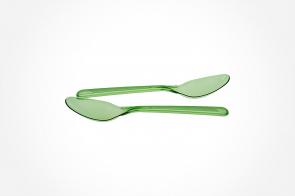 Lingurita Cristal PS 150mm Verde